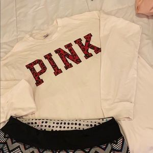 PINK long sleeve T-shirt M